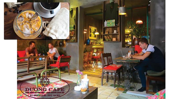 Địa điểm uống cà phê của người Hà Nội
