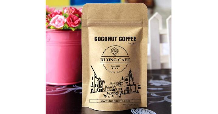 COCONUT COFFEE- Hoa Tan