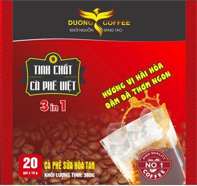 Cà phê hòa tan Dương cafe