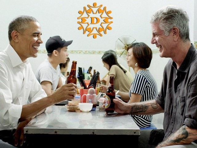 Tổng thống Obama và món Bún chả Hà Nội