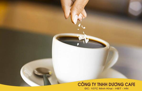 Muối khiến cà phê thêm đậm đà