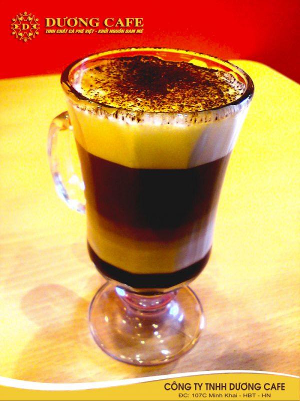Thêm ca cao vào cà phê