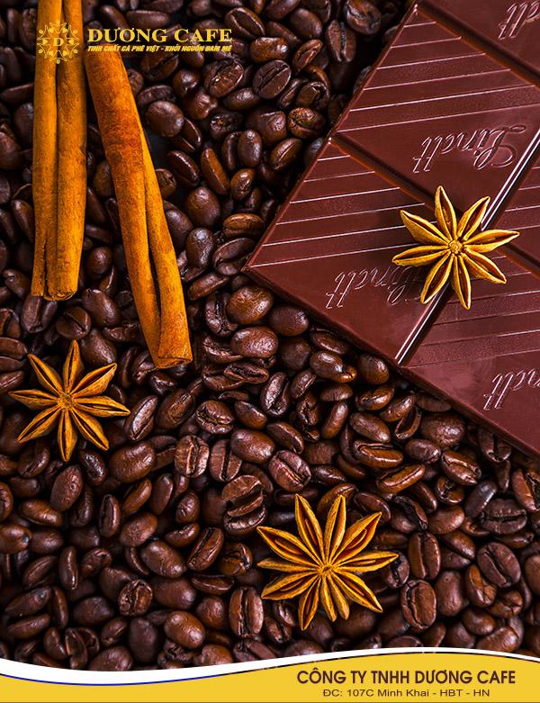 Thêm chocolate vào cà phê