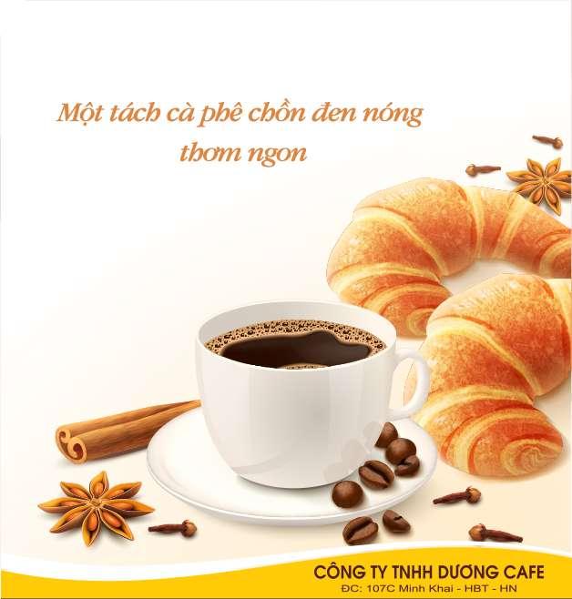 Một tách cà phê chồn đen nóng thơm ngon